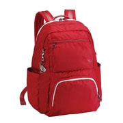Sumdex Soft Casual Tech-On College Backpack; Aurora Red