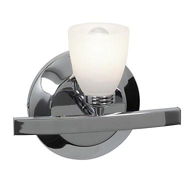 Access Lighting Sydney 1 Light Bath Sconce; Chrome