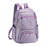 Sumdex Soft Casual Tech-On Campus Backpack; Lavender Aura