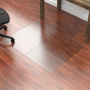 Dimex Fold-N-Go Hard Floor Vinyl Chair Mat; 0.11'' H x 45.5'' W x 53.5'' D