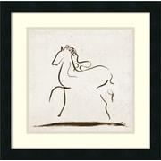 Amanti Art 'Horse I' by Tom Reeves Framed Art Print