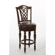 Hillsdale Hamilton Park 30'' Swivel Bar Stool w/ Cushion