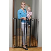 Regalo Deluxe Easy Step Extra Tall Gate; Black