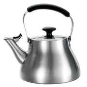 OXO Good Grips 1.7 Quart Stainless Steel Classic Tea Kettle Brushed