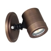 Access Lighting Myra 1 Light Outdoor Adjustable Spot Light; Bronze