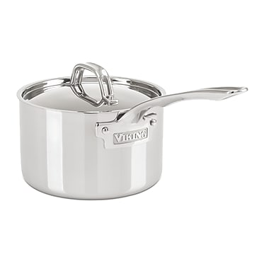 Viking Stainless Steel Saucepan; 3 Quarts