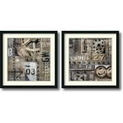 Amanti Art 'Industrial' by Dylan Matthews 2 Piece Framed Art Print Set
