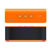 SoundBrick Plus Portable Bluetooth Stereo Speaker, Orange