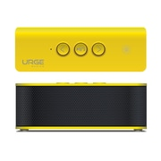 SoundBrick Plus Portable Bluetooth Stereo Speaker, Yellow