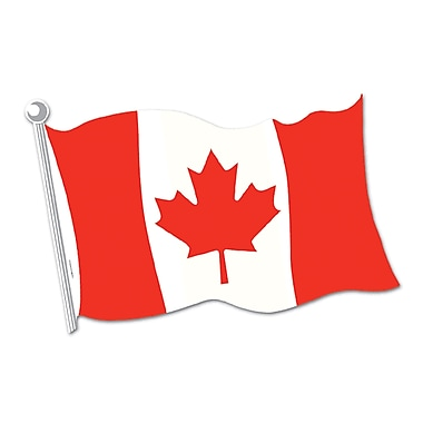 Canadian Flag Cutout, 18