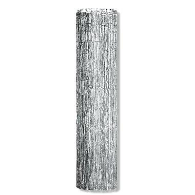 Colonne 1 épaisseur résistante aux flammes Gleam 'N Column, 8 pi x 12 po, argentée