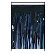 "1-Ply Flame Resistant Metallic Fringe Drapes, 15"" x 10', 2/Pack"