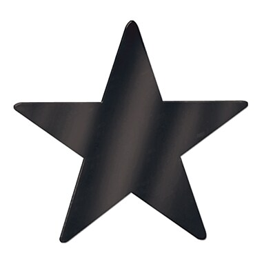Medium Foil Star Cutout, 12