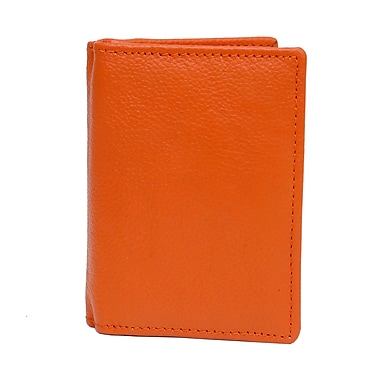 Ashlin® Abriella Ultimate Card Case, Orange