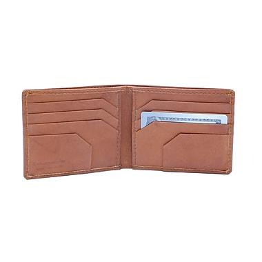 Ashlin® Alvin Slimfold Men's Wallet, British Tan