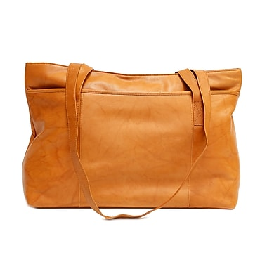 Ashlin® Melia Classic Ladies Tote Bag with Long Straps, British Tan