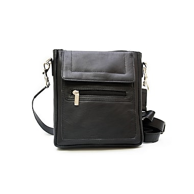 Ashlin® Taysha Classic Crossbody Bag, Black