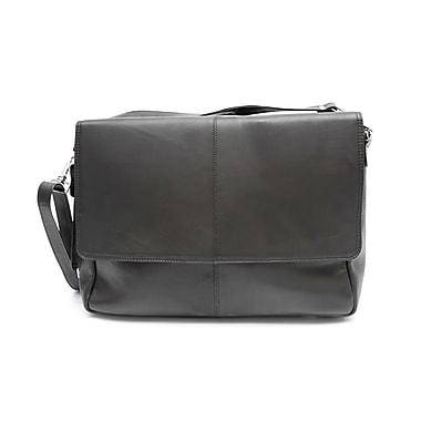 Ashlin® Fredrick Classic Messenger Briefcase, Black