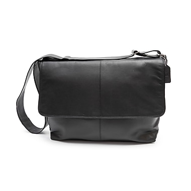 Ashlin® Rikar Messenger Bag, Black