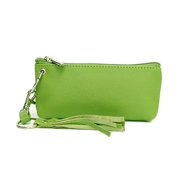 Ashlin® Destiny Sleek Wristlet with Strap, Lime Green