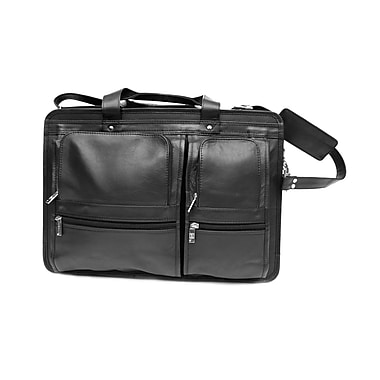 Ashlin® Glasgow Organizer Briefcase, Black