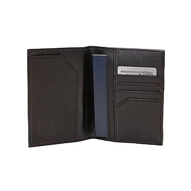 Ashlin® Amsterdam Rfid Blocking Passport Wallet, Black