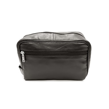 Ashlin® Payton Compact Shave Bag, Black
