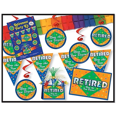 Retirement Party Kit, Assorted Sizes