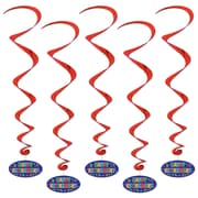 "Happy Retirement Whirls, 3' 2"", 15/Pack"