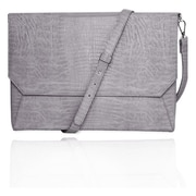 Fabrique FFS11GRLIZARDENVSS Lenox Sleeve With Shoulder Strap Sleeve For 11 Laptop, Gray