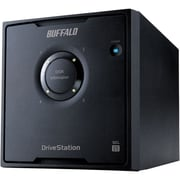 Buffalo DriveStation Quad 8 TB Desktop SATA (3 Gbps) Hard Drive, Black