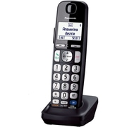 Panasonic® KX-TGEA20 Additional Digital Cordless Handset For TGE210/230/240/260/270 Series, Black