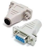 StarTech.com® DB-9 Female to PS/2 Female IBM Mouse Cable Adapter, Gray