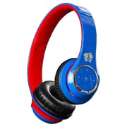 Life n soul BN301-BUR Bluetooth HeadPhone, Blue/Red