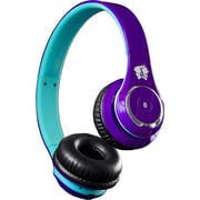 Life n soul BN301-PBU Bluetooth HeadPhone, Purple/Blue