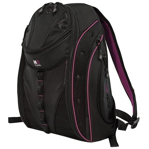 Mobile Edge Laptop Backpack, Lavender and Black Nylon (MEBPE82)