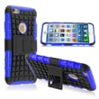 Insten® Hybrid Case With Stand For iPhone 6, Blue TPU/Black Hard