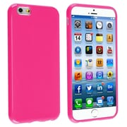 Insten® TPU Case For iPhone 6/6S, Hot Pink Jelly