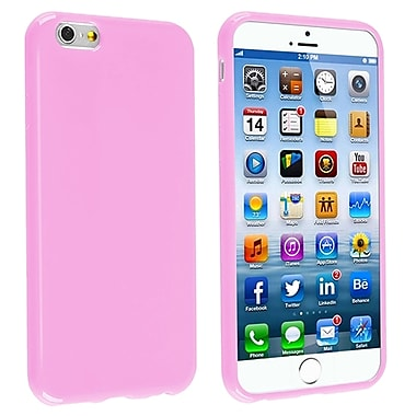 Insten® TPU Case For iPhone 6/6S, Light Pink Jelly