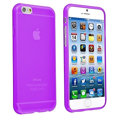 Insten® TPU Case For iPhone 6/6S, Clear Purple