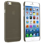Insten® Snap-In Slim Case For iPhone 6, Clear Smoke Rear