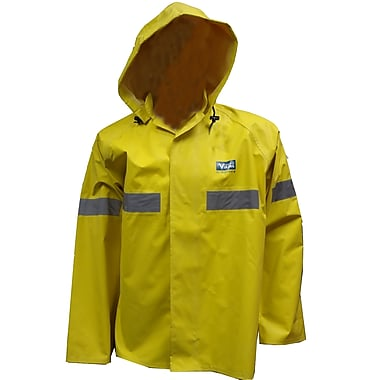 Viking Miner 49er Chemical-Resistant Neoprene Waterproof Mining Jacket, Yellow, 3X-Large