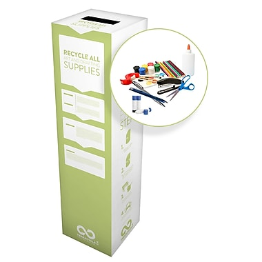 TerraCycle® Art and Drafting Supplies Zero Waste Box, 10