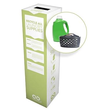 TerraCycle® – Boîte Zéro Déchet pour fournitures de lessive, 11 po x 11 po x 40 po, moyenne