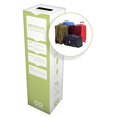 TerraCycle® Luggage Bags Zero Waste Box, 10