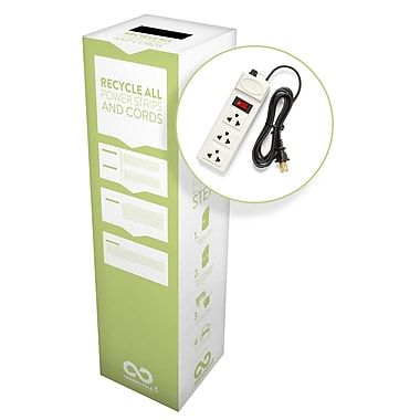 TerraCycle® Power Strips and Cords Zero Waste Box, 10