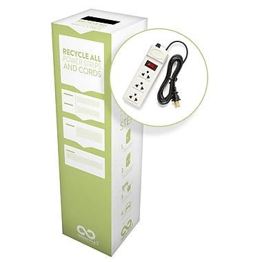 TerraCycle® – Boîtes Zéro Déchet pour barres multiprises et câbles d'alimentation