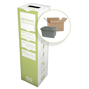 TerraCycle® Storage Boxes and Bins Zero Waste Box, 15