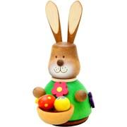 Alexander Taron Christian Ulbricht Bunny with Basket Ornament