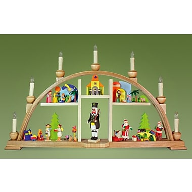 Alexander Taron Graupner Christmas Arch with Angel and LED Lighting Ornament